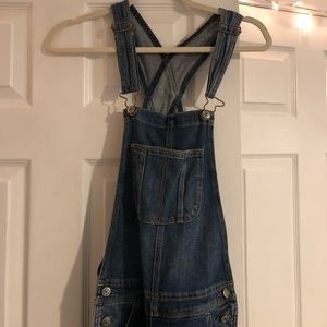 American Eagle Outfitters Jeans - Blue Jean Overalls